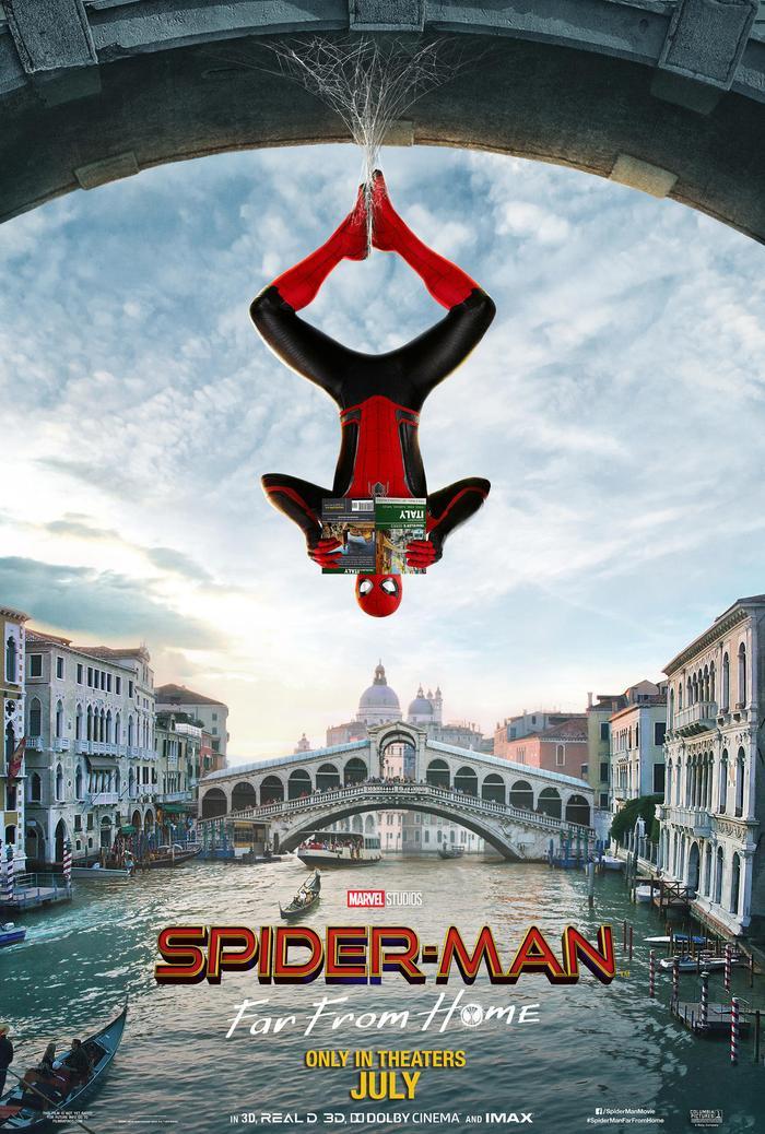 Spider-Man: Far From Home trẻ trung, hài hước nhưng xuất sắc thì không.