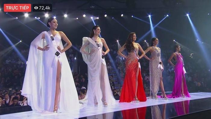 Top 5 Chung cuộc Hoa hậu Hoàn vũ Thái Lan 2019.