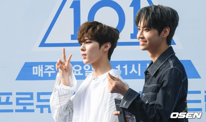 Kim Woo Seok và Lee Jin Hyuk.