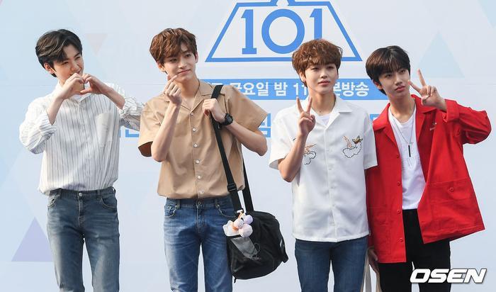 Kim Min Hee, Goo Jung Mo, Song Hyung Jun và Ham Won Jin.