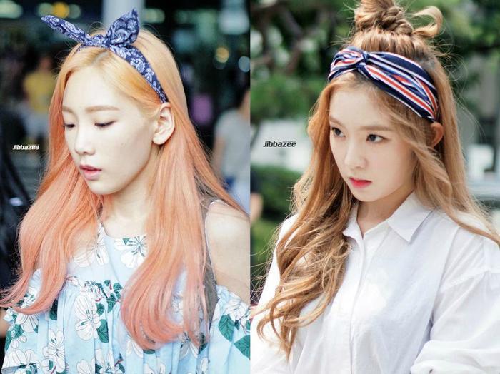 Xuất hiện thêm cặp 'chị em' Kpop giống nhau như 2 giọt nước: Taeyeon (SNSD) và Irene (Red Velvet).
