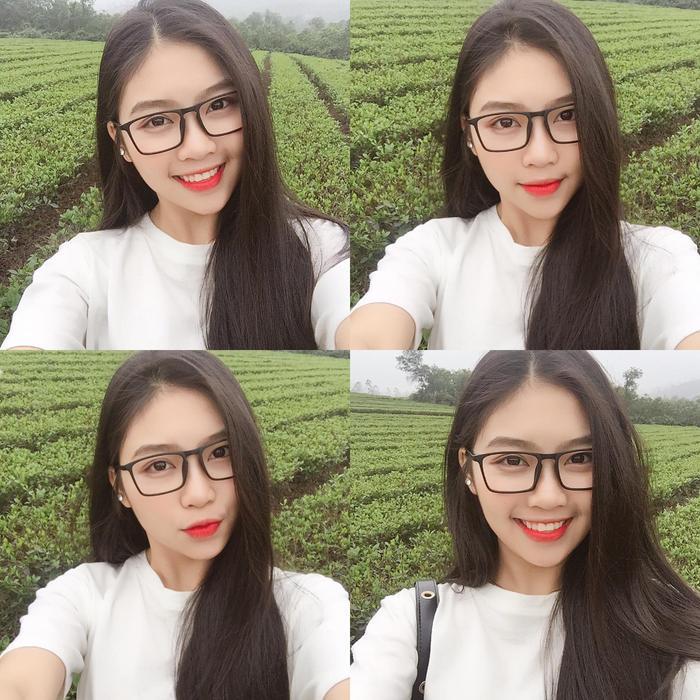 Diện quân phục màu xanh đi thi Đại học, nữ sinh Hà Tĩnh bất ngờ nổi rần rần bởi quá đỗi xinh đẹp ảnh 5