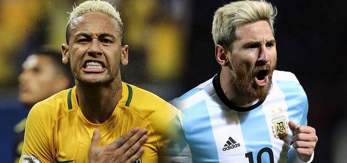 """Cả Argentina và Brazil đều rất quyết tâm trước trận """"Siêu kinh điển"""" này."""