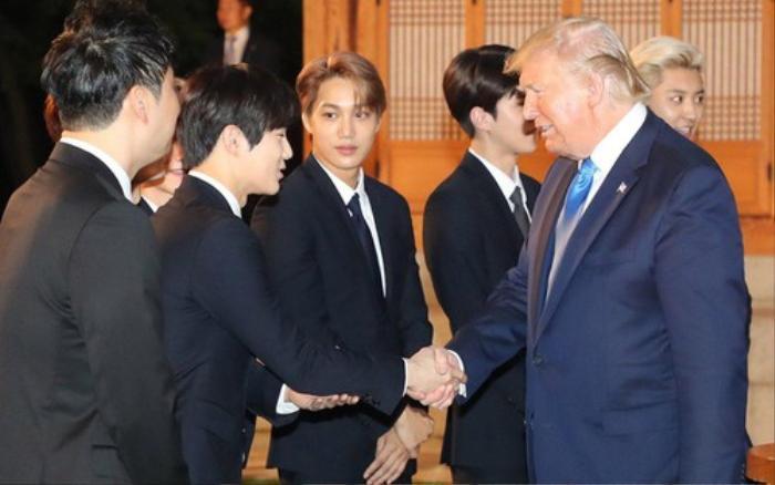 Tổng thống Trump nói gì khi lần đầu gặp Suho (EXO)? ảnh 2