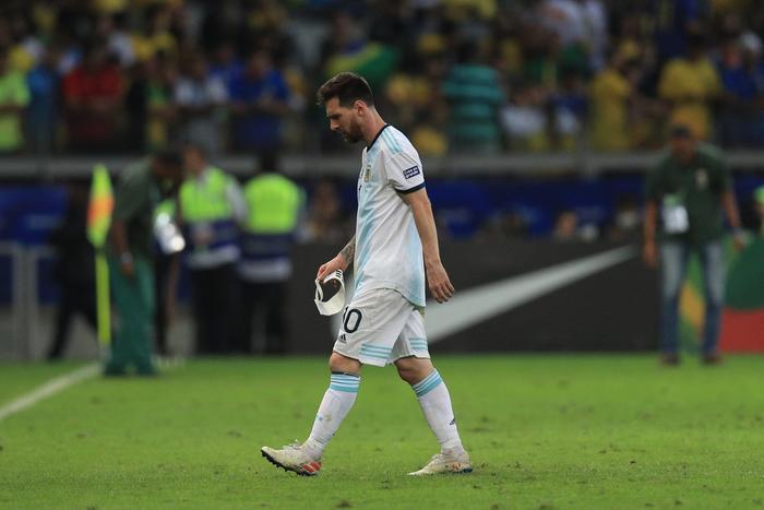 Messi tiếp tục thất bại dưới màu áo ĐT Argentina.