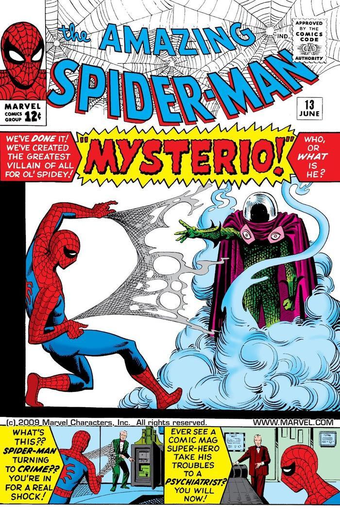 """Mysterio xuất hiện lần đầu trong """"The Amazing Spider-Man #13"""""""