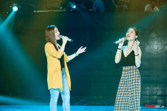 … và hứa hẹn khiến khán giả hài lòng với màn song ca lần đầu tiên với đàn chị Giang Hồng Ngọc.