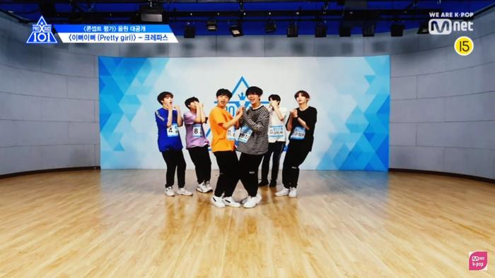 """Nhóm """"Pretty Girl"""" với sự tham gia của Son Dong Pyo, Ham Won Bin, Lee Jin Woo, Song Hyung Jun…."""