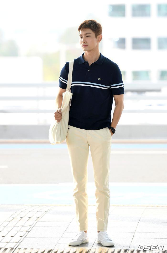 Chang Min của DBSK sở hữu vóc dáng đẹp.