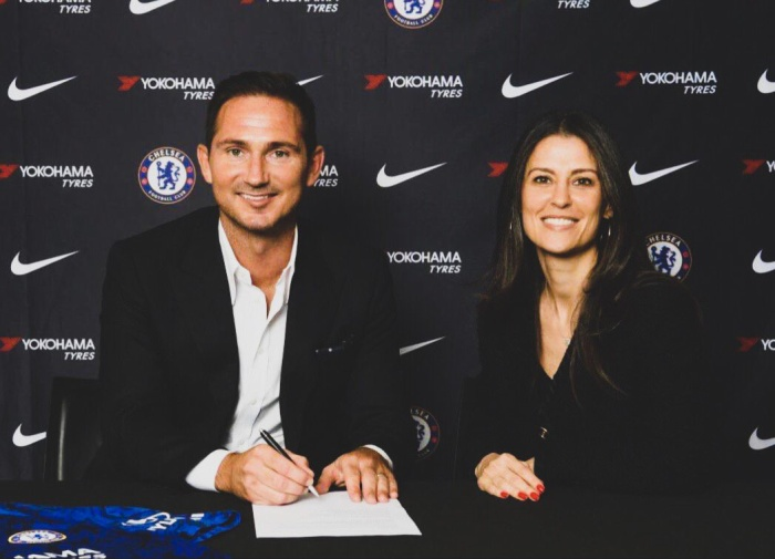 Lampard mới ký hợp đồng 3 năm với CLB Chelsea.