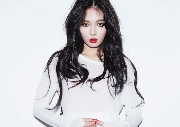 Trước đây Hyuna có một đôi môi khá nhỏ và mỏng