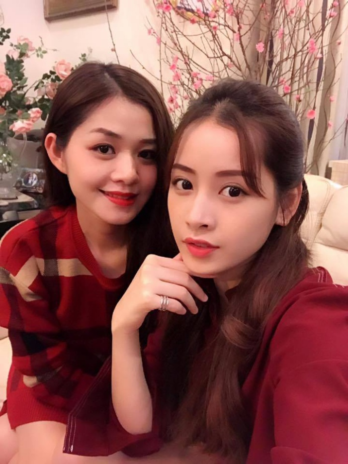 Không hổ danh là chị gái hotgirl, Thùy Vân sở hữu ngoại hình xinh đẹp.