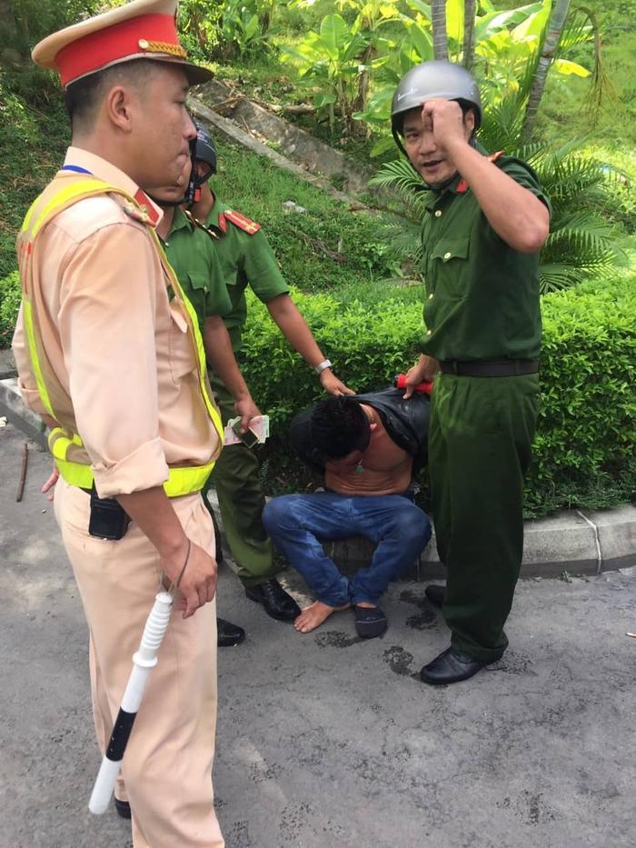 Đối tượngTrần Minh Dương đã bị bắt giữ.