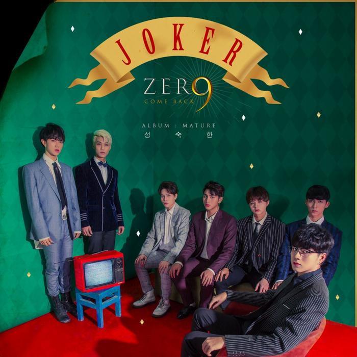 Bìa single mới nhất của Zero 9 tựa đề: JOKER.