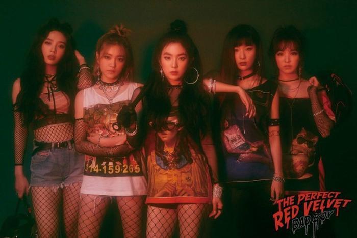 Red Velvet lột xác với phong cách mới.