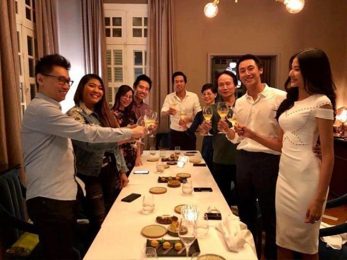 Đăng ảnh tựa vai nhau ngắm hoàng hôn, Hoàng Thuỳ muốn gửi ngàn yêu thương đến Rocker Nguyễn nhân ngày sinh nhật ảnh 3