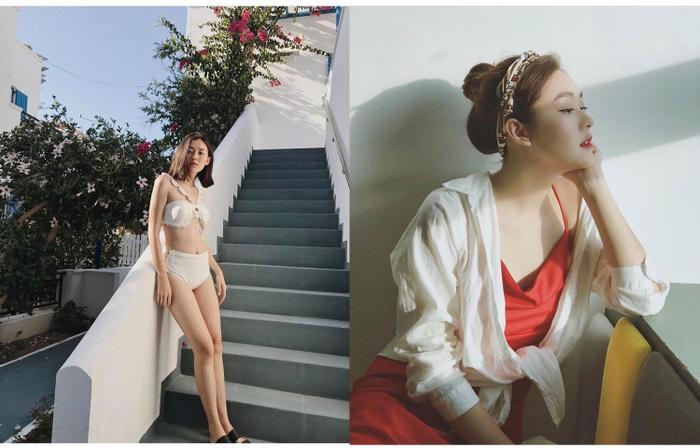 Tường San được biết đến nhiều qua những bộ ảnh chụp lookbook, beauty… trong những buổi photoshoot, Tường San lại khoe được cái thần thái thu hút của mình, cô bạn rất biết diễn trước ống kính và dặc biệt gu thời trang cực chất.