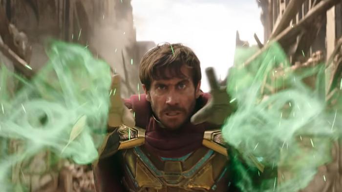 Nhân vật Mysterio không gây bất ngờ nhiều cho khán giả