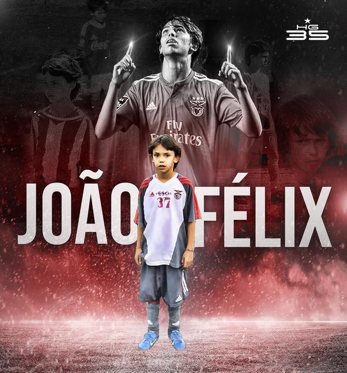 Joao Felix, tài năng sáng giá bậc nhất thế giới thời điểm hiện tại.