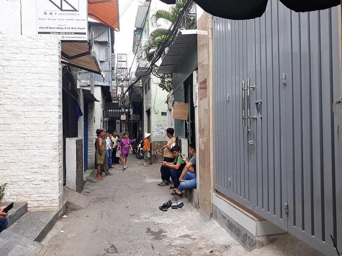 Hiện trường vụ việc. Ảnh: VietNamNet