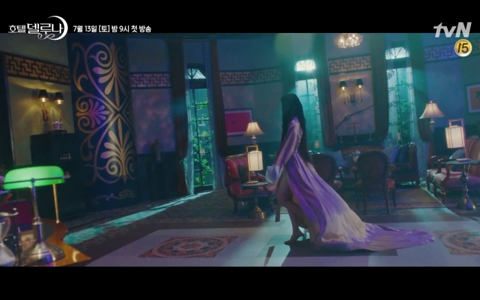 Phim Hotel Del Luna tung highlight ma mị, IU lột xác thành nữ cường chuyên bắt ma và bảo vệ Yeo Jin Goo ảnh 4