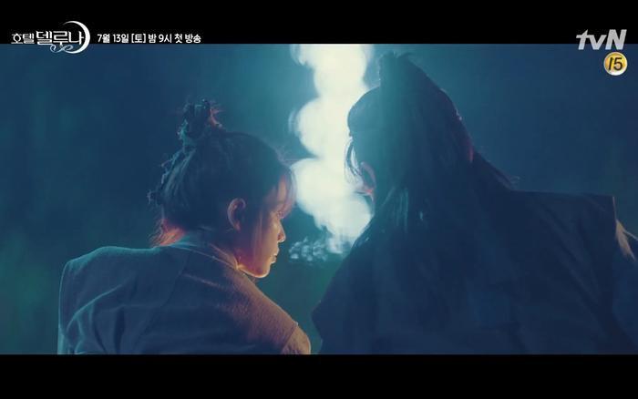 Phim Hotel Del Luna tung highlight ma mị, IU lột xác thành nữ cường chuyên bắt ma và bảo vệ Yeo Jin Goo ảnh 29