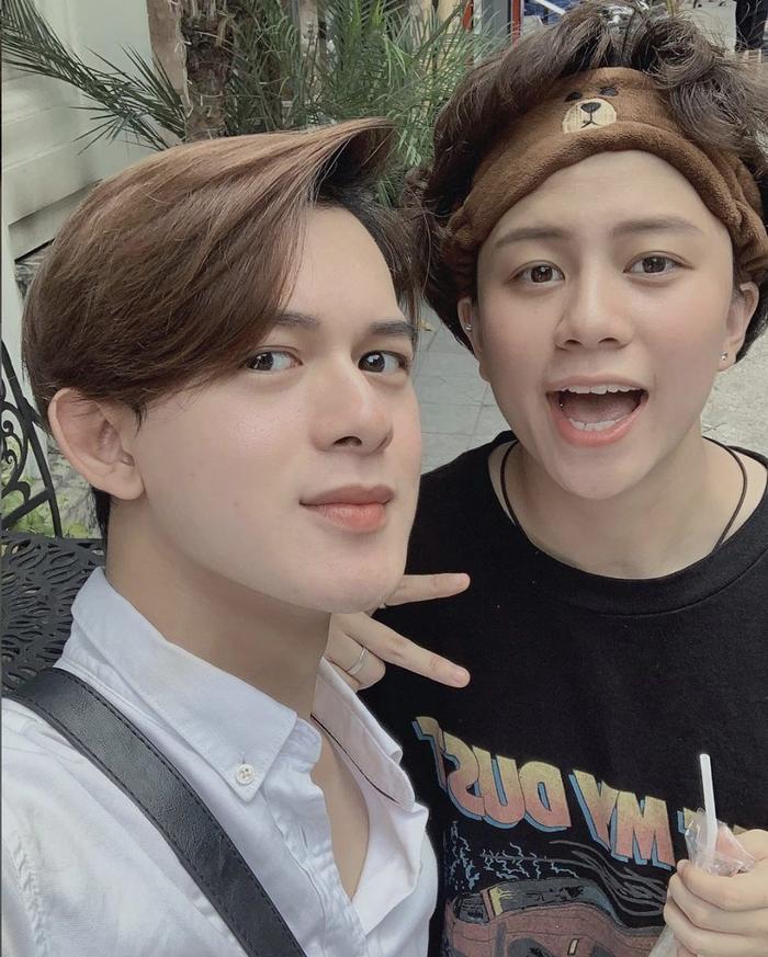 Cặp đôi chim ri Quang Anh - Bảo Hân.