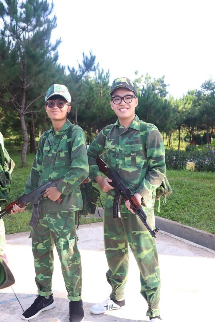 Với mỗi sinh viên, kỳ học quân sự hè quả là thú vị và nhiều điều ý nghĩa.