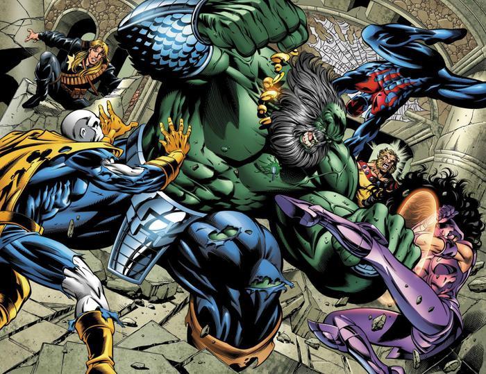 Hulk đã khiến tất cả các Avengers phải đau đầu.