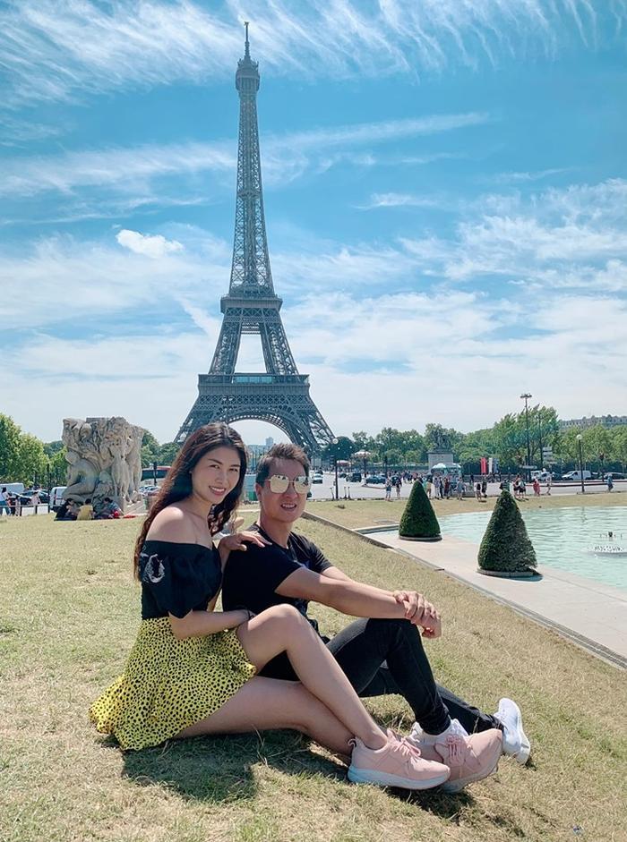 Hình ảnh Đăng Khôi và Thủy Anh trong chuyến đi được cô chia sẻ trên trang cá nhân của mình