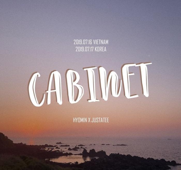 Hình ảnh hé lộ tên tựa đề ca khúc kết hợp giữa Hyomin và JustaTee.
