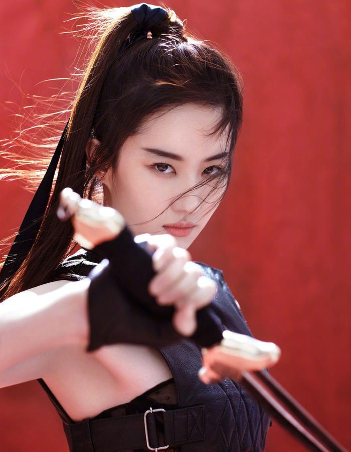 """Lưu Diệc Phi trong """"Mulan""""."""