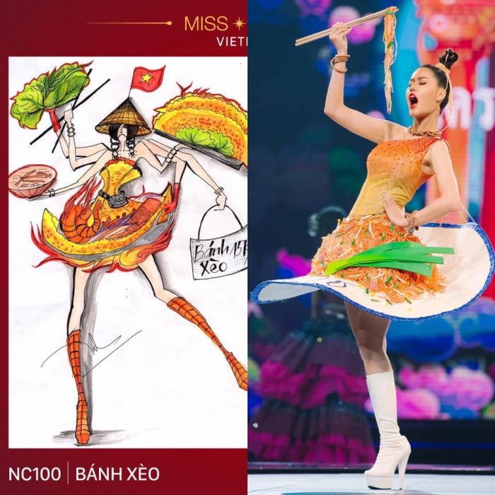 Loạt trang phục dân tộc Miss Grand Thailand có cùng cảm hứng với National Costume của Hoàng Thùy ảnh 1