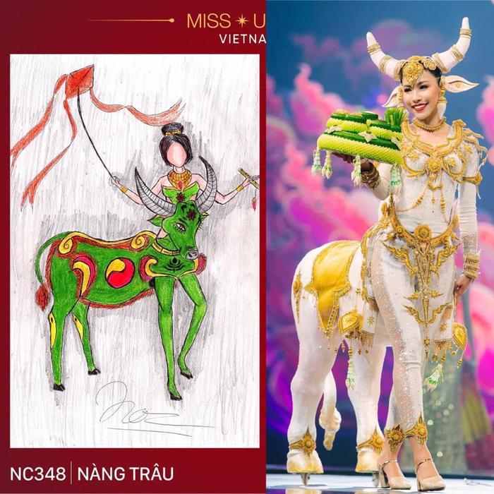 Loạt trang phục dân tộc Miss Grand Thailand có cùng cảm hứng với National Costume của Hoàng Thùy ảnh 3