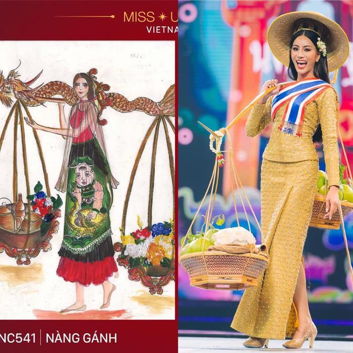 Loạt trang phục dân tộc Miss Grand Thailand có cùng cảm hứng với National Costume của Hoàng Thùy ảnh 6