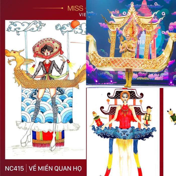 Loạt trang phục dân tộc Miss Grand Thailand có cùng cảm hứng với National Costume của Hoàng Thùy ảnh 10
