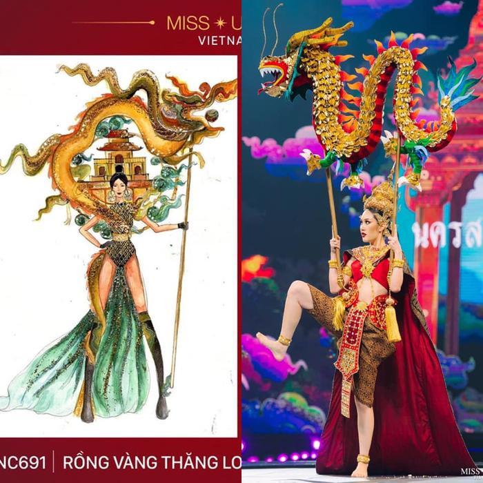 Loạt trang phục dân tộc Miss Grand Thailand có cùng cảm hứng với National Costume của Hoàng Thùy ảnh 2