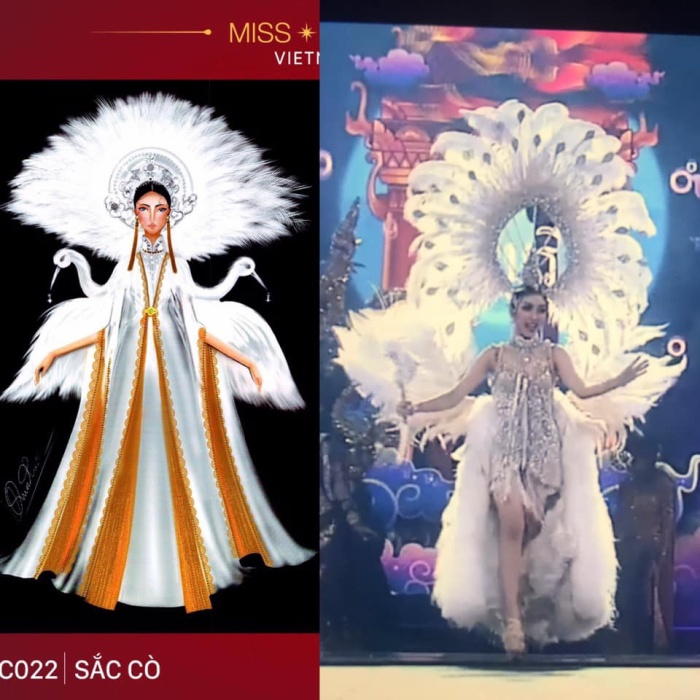 Loạt trang phục dân tộc Miss Grand Thailand có cùng cảm hứng với National Costume của Hoàng Thùy ảnh 5