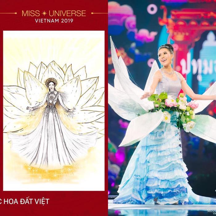Loạt trang phục dân tộc Miss Grand Thailand có cùng cảm hứng với National Costume của Hoàng Thùy ảnh 8