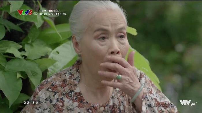 Bà Loan sau khi nghe sự thật Đồng Huy là con trai Đông Hoà.