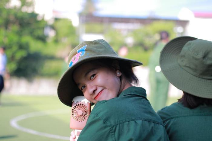 Gương mặt nữ sinh xinh đẹp của Đại học Tôn Đức Thắng.