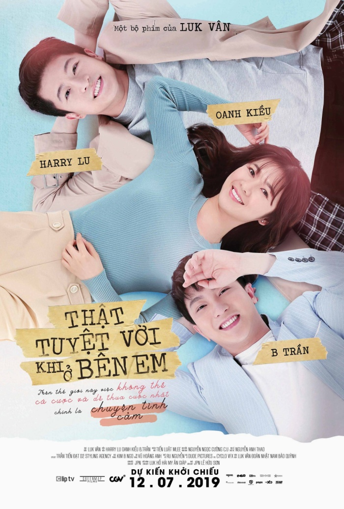 Poster phim 'Thật tuyệt vời khi ở bên em'