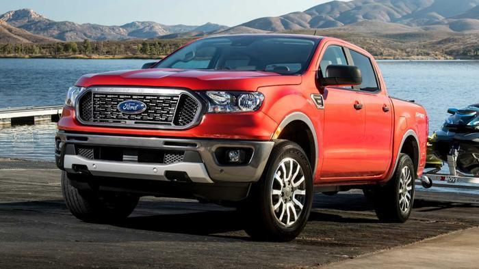 10. Ford Ranger - 5.498 xe:Trong 6 tháng đầu năm 2019, doanh số bán của Ford Ranger đạt 5.498 xe.