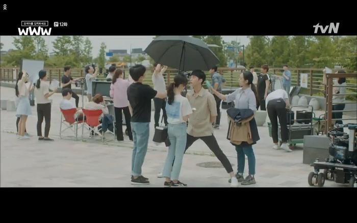Cha Hyun luôn âm thầm gửi quà động viên cho Ji Hwan.