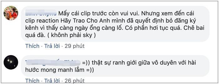 Làm clip reaction MV của Hãy trao cho anh, Cris Phan khiến fan thất vọng khi dùng từ ngữ body shaming người mẫu nữ một cách vô duyên ảnh 8