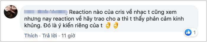 Làm clip reaction MV của Hãy trao cho anh, Cris Phan khiến fan thất vọng khi dùng từ ngữ body shaming người mẫu nữ một cách vô duyên ảnh 13