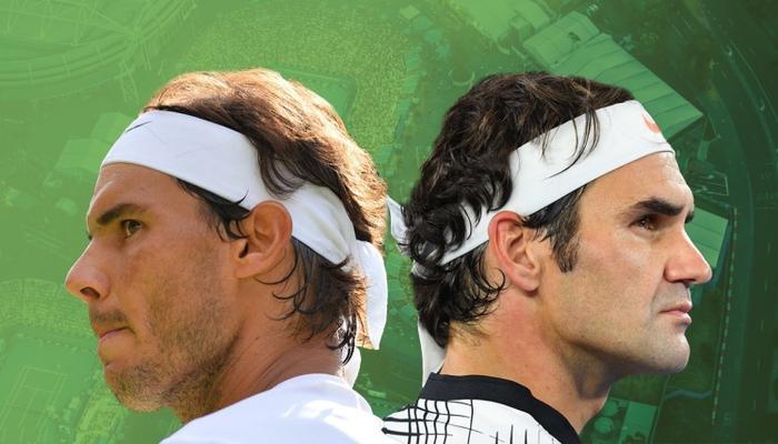 """Trận """"Siêu kinh điển"""" làng quần vợt sẽ được diễn ra vào lúc 21h00 tối nay (12/7). Người thắng trong cặp đấu này sẽ nhận tối thiểu 1,49 triệu USD tiền thưởng tại Wimbledon 2019 (nếu thua chung kết), và tối đa 2,98 triệu USD (nếu vô địch)"""