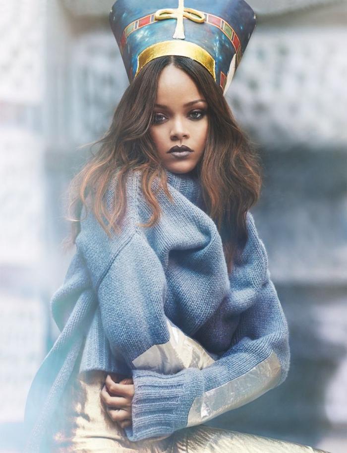 Dù năm vừa qua không ra sản phẩm nào nhưng Rihanna vẫn có thứ hạng trong danh sách này của Forbes nhờ vào Fenty beauty.