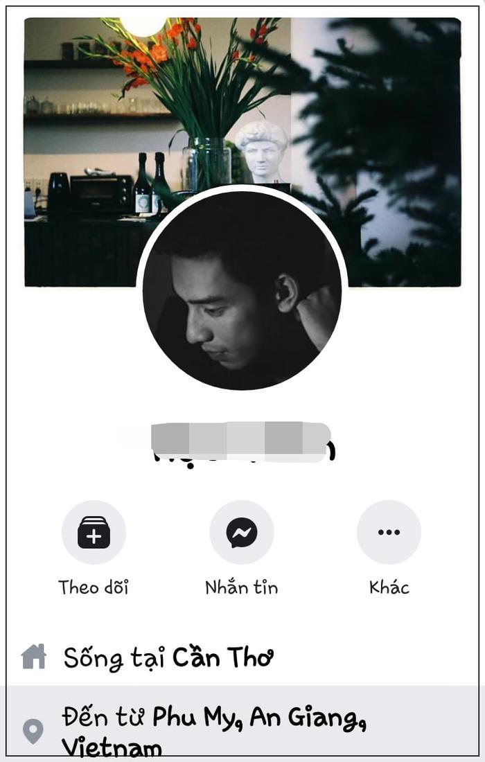 Facebook được cho là của anh chàng trong ảnh.
