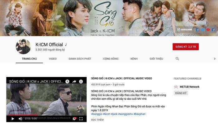 Jack và K-ICM: Bộ đôi sở hữu top 4 realtime công chiếu Youtube, top 1 trending hiện nay là ai? ảnh 5